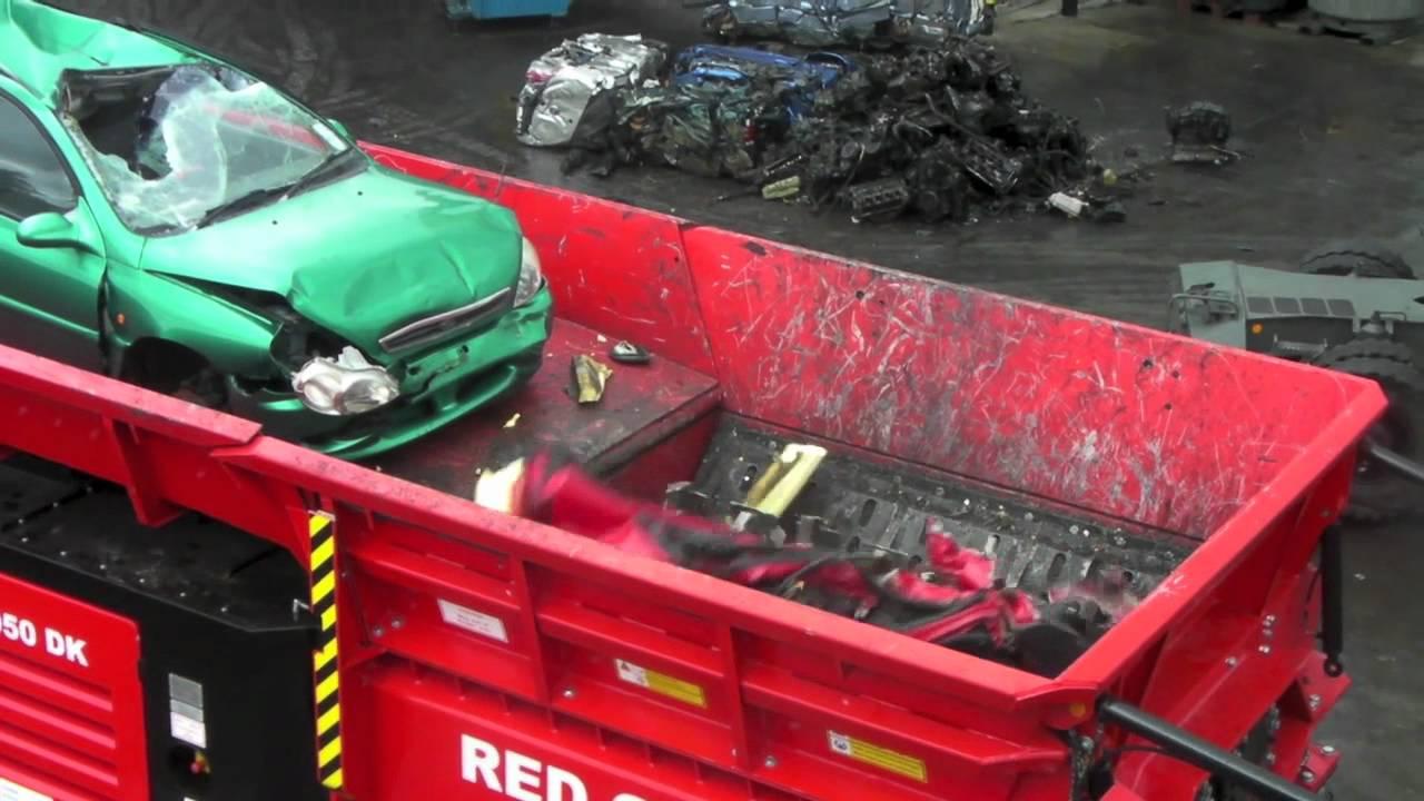 Maquina destrosa autos